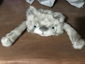 My Life As a Doll gray Arctic Bear Wolf hat faux fur (fits American Girl )