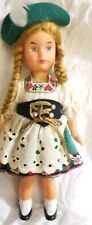 """Antique German SWEETHEART Mechanical Wind-Up  Doll With Key  7""""  Vintage"""
