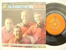 Los hermanos cuatro Ep Canta Bob Dylan CBS EP 6063... 45 Rpm