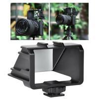 UURig Camera Vlog Selfie Flip Screen Bracket for Sony/Fuji/Nikon/Canon Cameras