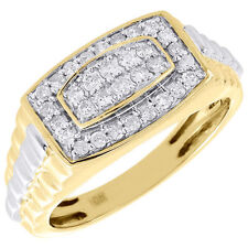 Mens Yellow Gold Rings eBay