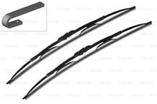 "SEAT FIAT VW BOSCH Twin Front Windshield Wiper Blades PAIR 340mm 13"" 1963-"