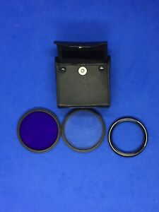 Neewer FLD & UV 58mm Lens Filter With Case 227-18