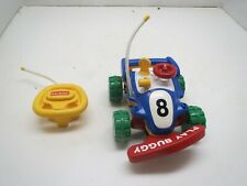 """Vintage Radio Shack PLAY BUGGY Battery Operated REMOTE CONTROL -  Large 11"""" Car"""