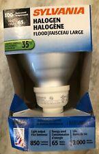 Sylvania BR30 Halogen Indoor / Outdoor Flood Light Bulb, 65W (100W Replacement)