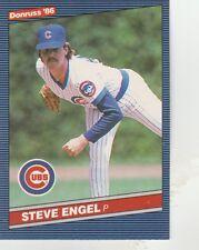 FREE SHIPPING-MINT-1986 Donruss Chicago Cubs  #510 Steve Engel