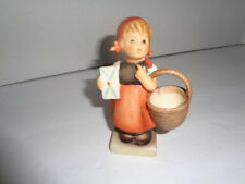 Goebel Hummel Figure, Girl With Basket # 13/210 Excellent Condition