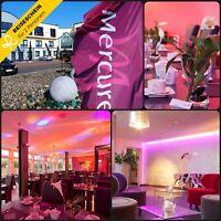 3 Tage 2P 4★S Mercure Hotel Centro Oberhausen inkl. candle-light dinner Romantik