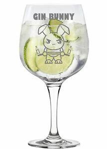 Gin Bunny Novelty Copa Gin Glass