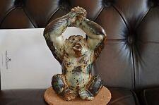 Royal Copenhagen Monkey Gorilla Figurine 20227 Knud Kyhn Stoneware Porcelain