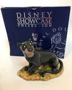 "Royal Doulton Disney Showcase Bagheera Figure JB4 - 5 3/4""(14.75cm) boxed"