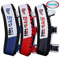 Farabi Thai Pads Focus Kick Shield MMA Training Arm Punch Mitt Curved Strike Pad