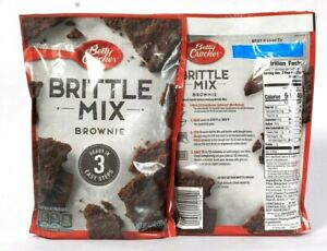 2 Pack Betty Crocker Brownie Brittle Mix Ready in Three Easy Steps Ex. 3-12-2021