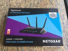 NETGEAR Nighthawk AC1900 1GHz Dual-Band Wi-Fi Router Black R7000-100NAS-