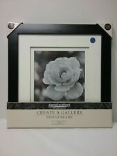 Aaronbrothers photo frame 12x12in matted to 8x8in black frame ez hanging