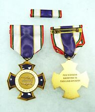 US Department of Homeland Security Border Patrol Purple Cross Wound Medal, set/2