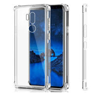 Clear Shockproof Thin Slim Case Cover for LG G7 ThinQ / LG G7 One / LG G7 Fit