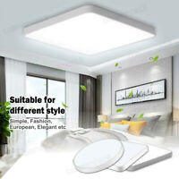 Modern LED Ceiling Down Light Dimmable Ultra Thin Flush Mount Home Bedroom Lamp