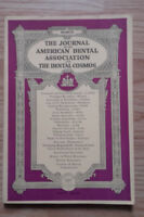 I Giornale Of I American Dental Association - Marzo 1938 - Vol 25