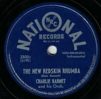Charlie Barnet 78 The New Redskin Rhumba / Cherokee EE- / E- D2