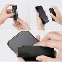 3-in-1 Fingerprint-proof Phone Screen Cleaner Dust Removal Microfiber Tool A8F4