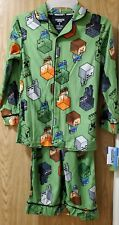 Minecraft~Boys 2 Piece Pajama Set~Size 8~ Brand New with Tags