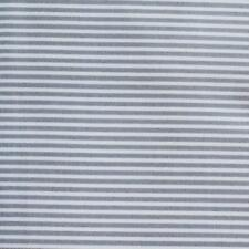 Cotton Fabric GREY STRIPE - Quilting, Patchwork, Apparel, Craft *TAF