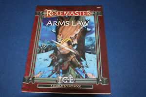 Arms Law (Rolemaster) Paperback – 2004 by Terence Kevin Amthor (Author)