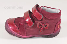 GBB Girls Hannaya Red Leather Boots UK 5 EU 21 US 5.5 RRP £47.00