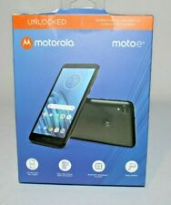 Motorola Moto E6 Starry Black 16GB Smartphone Unlocked No Sim Card Open Box New