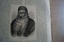 1883 Zeitungsdruck km / 6 / Bashir Shihab II Libanon