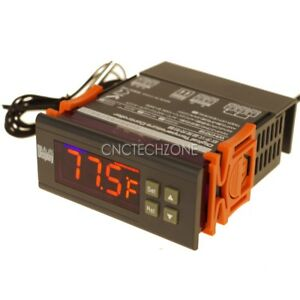 Switchable -22 to 572 °F -30 to 300 °C Digital Temperature Controller Thermostat
