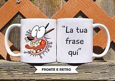 Tazza ceramica LEONE CANE FIFONE 4 FRASE PERSONALIZZATA  ceramic mug