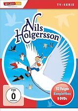 NILS HOLGERSSON KOMPLETTBOX (TV-SERIE) 9 DVD NEU