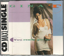 Gina T. CD-SINGLE  YOU REALLY GOT ME   ©  1991