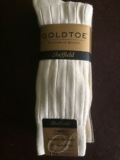 GOLD TOE Pima Casual Cotton Men's 4 Pack Sock - Asst. Colors - BRAND NEW !