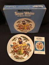 Vintage Goebel Walt Disney Snow White and the Seven Dwarfs Collectors Plate Mib