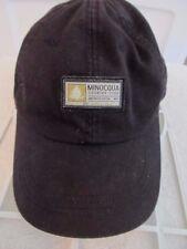Ahead Extreme Fit Minocqua Country Club WI Black Patch Logo Adj Ball Cap Hat