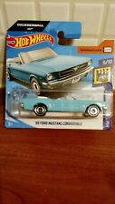 Hot Wheels '65 Ford Mustang Convertible Thunderball 007 New 2020