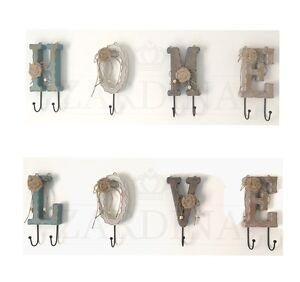 Shabby Chic Decorative Hooks / Wall Hanger (Free P&P)