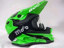 3GO XK188 Rocky Cub grün Kinder Motocross MX Offroad Helm Kostenlose Brille Größe XL