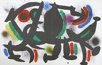 Joan Miro Lithographs Volume 1 (CB.160) - Original Lithograph VIII (M.864), 1972