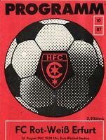 OL 87/88   HFC Chemie - FC Rot-Weiß Erfurt