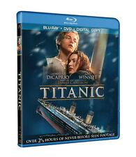 Titanic (Blu-ray/DVD, 2012, 4-Disc Set)