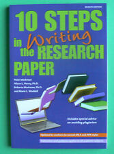 Barron's 10 Steps in Writing the Research Paper,Peter Markman, LN PB