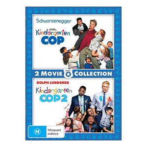 Kindergarten Cop / Kindergarten Cop 2 DVD New (Arnold Schwarzenegger) Free Post