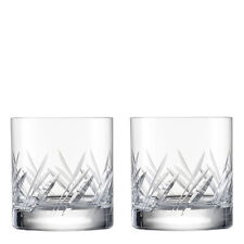 Eisch Glas Cut Crystal Whisky Tumblers (Set of 2)