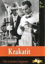 Krakatit 1948 Otakar Vavra Drama DVD Czech lang.