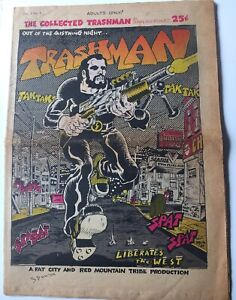 1969 The Collected Trashman #1 By Spain Signed 2004
