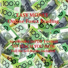 CD - EASY MONEY - ONLINE FOREX TRADING - Work from Home - 10 eBooks
